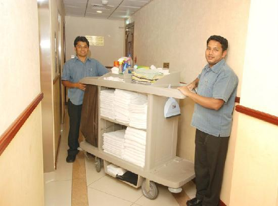 Ivory Hotel Apartments, Abu Dhabi: Housekeeping & cleaning services