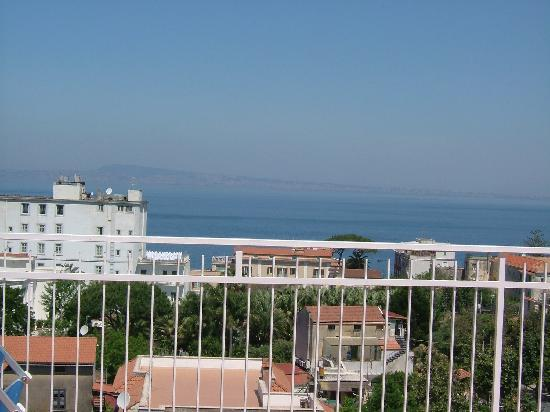 Hotel Caravel Sorrento: Naples from the Caravel sun terrace