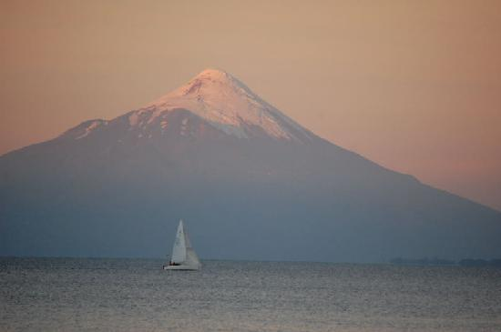 Puerto Varas, Chili : sunset