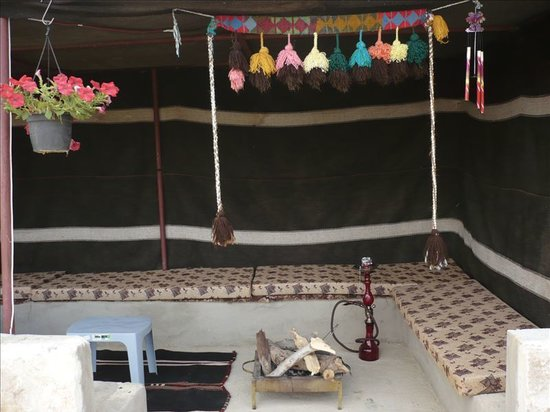 Petra Bed and Breakfast: Bedouin tent