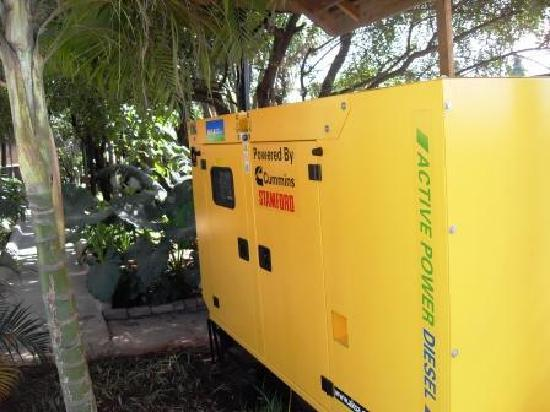 Transit Motel Airport: Standby power generator installed May 2011