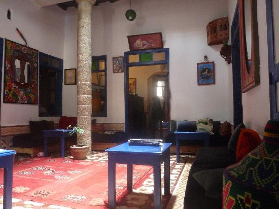 Riad Dar Afram: The lobby at Dar Afram