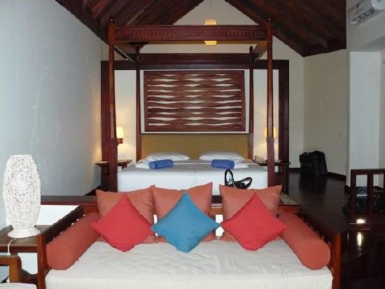 Robinson Club Maldives: Comfy Bed