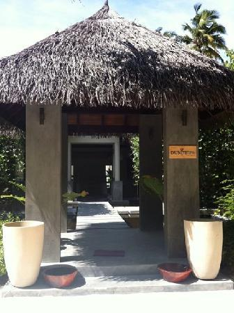 Robinson Club Maldives: Spa Entrance