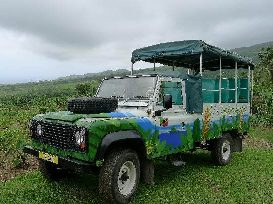 Greg's Safaris: Your Rover for the Trip