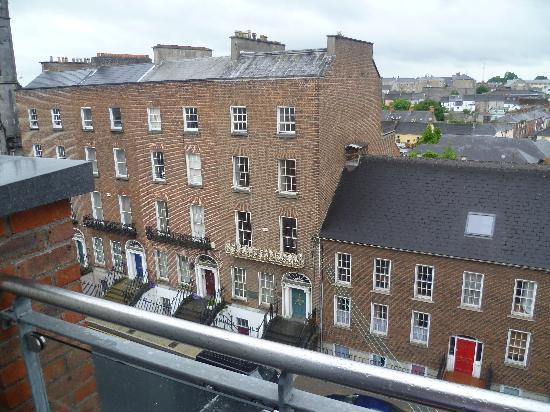 No. 1 Pery Square Hotel & Spa: One of the views from the small balcony of the penthouse suite