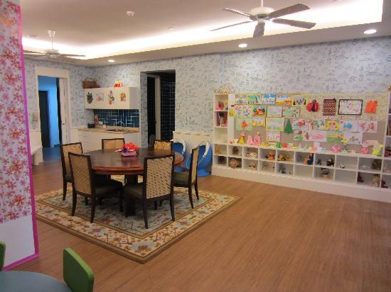 The Danna Langkawi, Malaysia: Kids Club (with nursing room and bedroom (2 cots) for afternoon naps)
