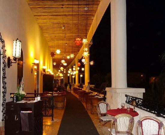Secrets Maroma Beach Riviera Cancun Outside Restaurant Area