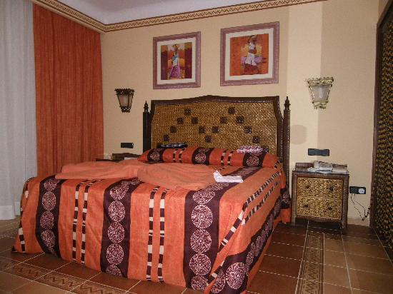 Hotel Riu Touareg: One part of our room