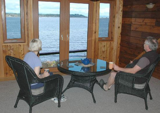 Courtenay, Canada: Oceanview Upper Lounge