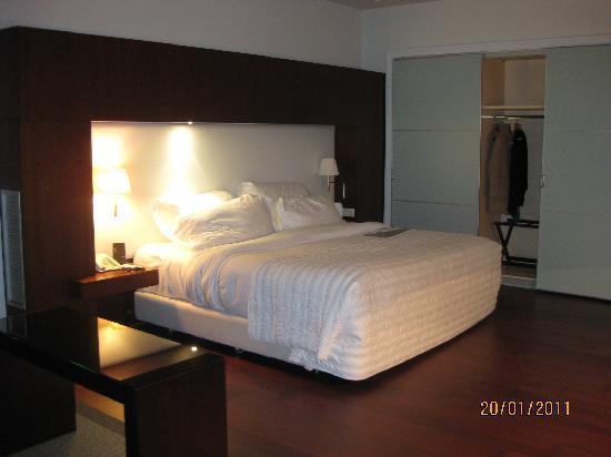 Le Meridien Ra Beach Hotel & Spa : Cama híper cómoda