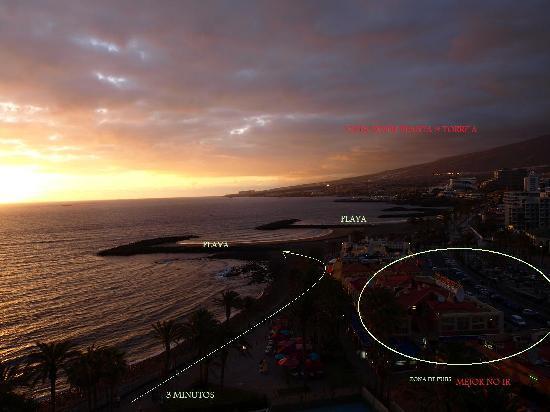 Sol Tenerife by Melia : Vistas Pubs y montaña