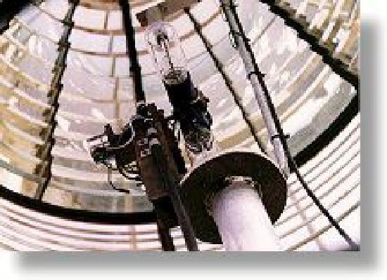 Point Amour Lighthouse : Second order Fresnel lens