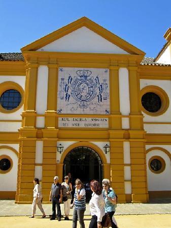 Fundación Real Escuela Andaluza del Arte Ecuestre: main building