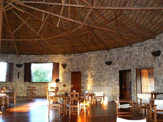 Anakao Ocean Lodge: Restaurant