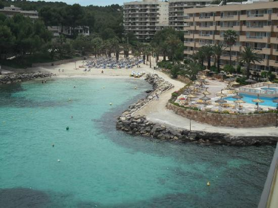 SENTIDO Cala Viñas: view from balcony on 4th floor