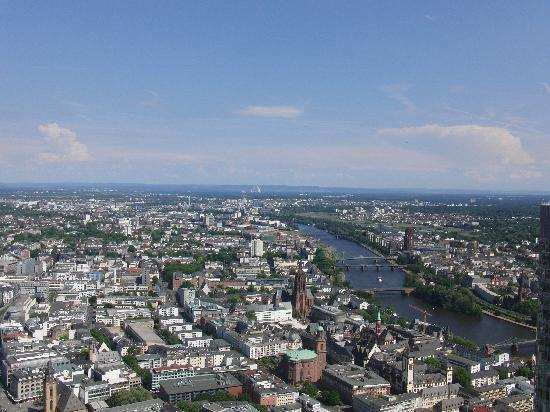 Main Tower: Blick vom Maintower 1
