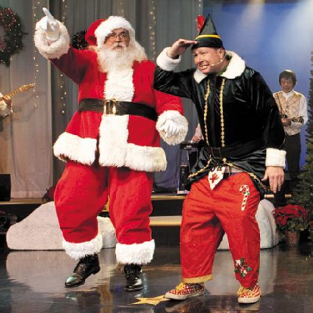 Baldknobbers Jamboree : Santa & Droopy Drawers in Nov & Dec