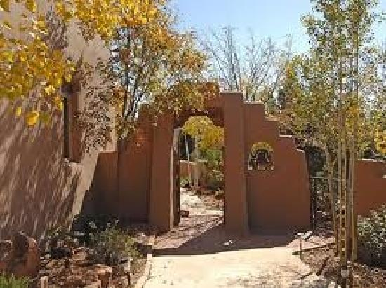Santa Fe, New Mexiko: entryway...