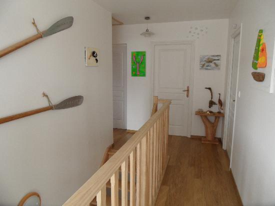 Villa Fleur d'ecume : La cage d'escaliers