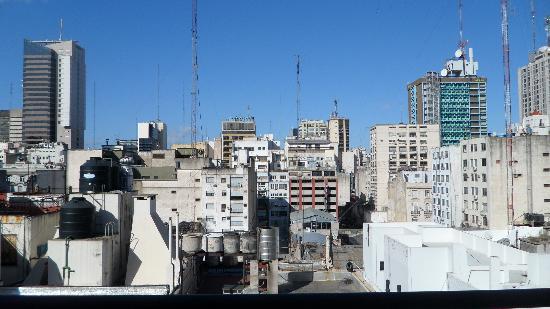 Galerias Hotel: Vista da Varanda no 10º andar