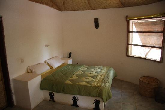 Footsteps Eco Lodge: Simple but comfortable furnishing