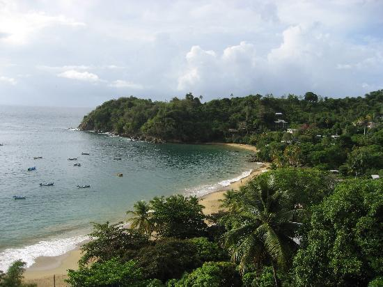 Castara, Tobago : View from Rainforest apartment