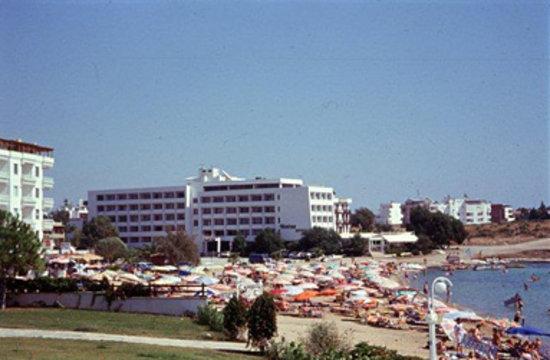 Tuntas Beach Hotel Altinkum: Beach