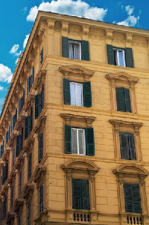 Agli Horti Sallustiani - bed & breakfast: palazzo
