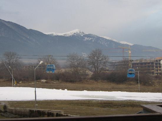 Kempinski Hotel Grand Arena: View from shared balcony