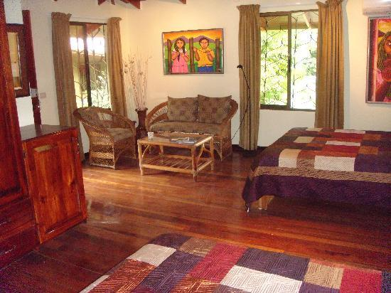 Coyaba Tropical Bed and Breakfast - Adults Only: Our Deluxe Room on the top floor