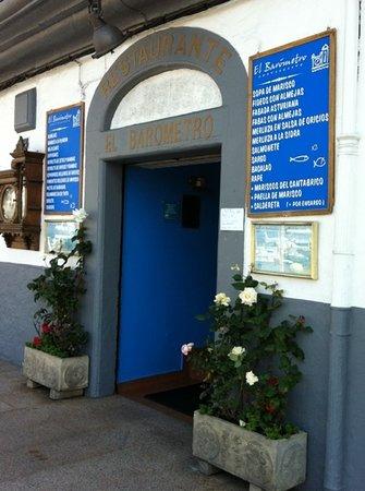 Luarca, Spanien: el barometro