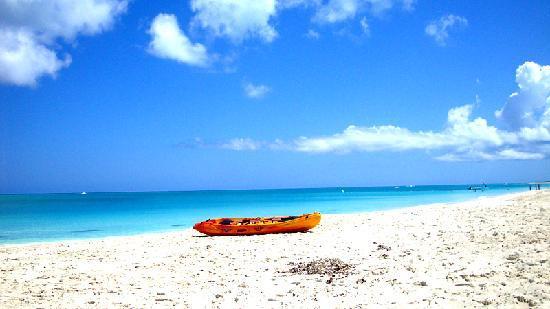 Royal West Indies Resort: Kayak on the beach