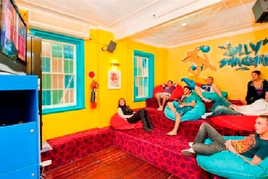 Jolly Swagman Backpackers: TV Room