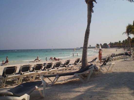 Hotel Barcelo Maya Beach : Playa