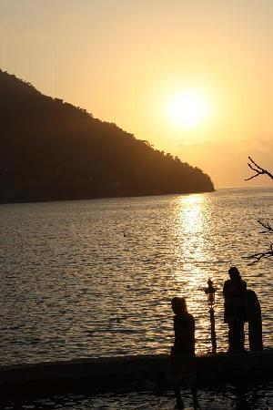 Yelapa, Mexiko: beautiful sunset