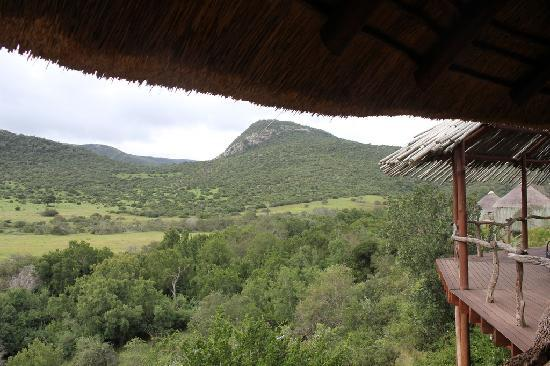 Nguni River Lodge: View from the main dining area