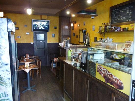 Mag kávé panini - Cafe : interior