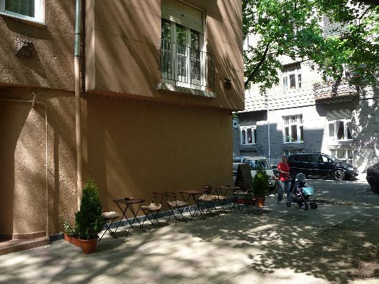 Mag kávé panini - Cafe : terrace