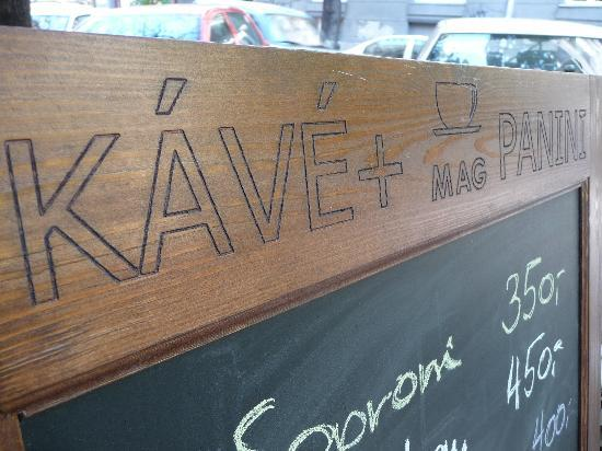 Mag kávé panini - Cafe : board