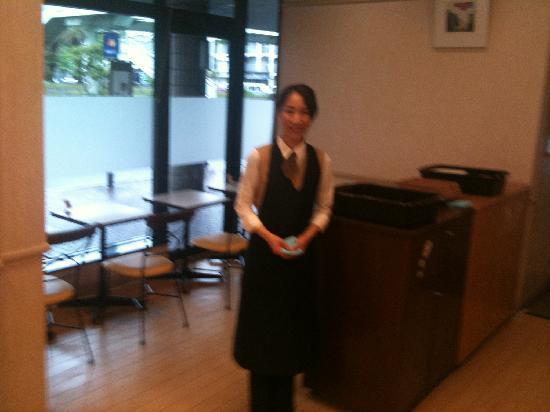 Comfort Hotel Sakai : helpful & polite