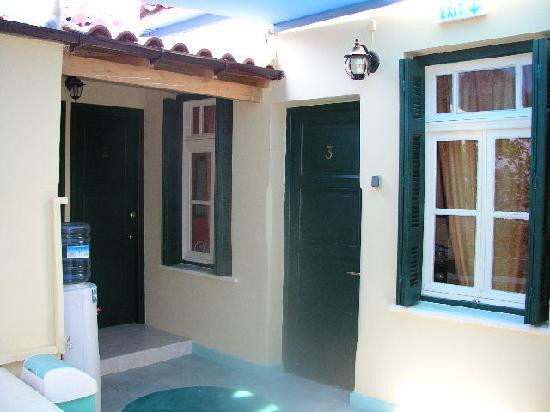 Atheaton Traditional Guesthouse : veranda -  πολύ περιποιημένη βεράντα