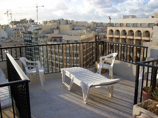 Hotel Roma: My Sunny Balcony