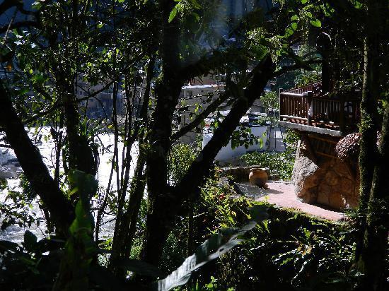 Inkaterra Machu Picchu Pueblo Hotel: View from my Villa