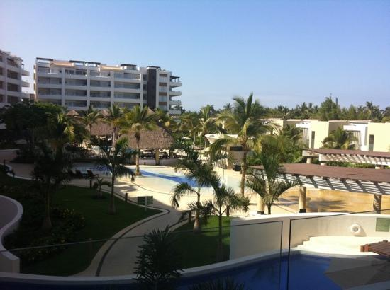 Marival Residences Luxury Resort: view from room