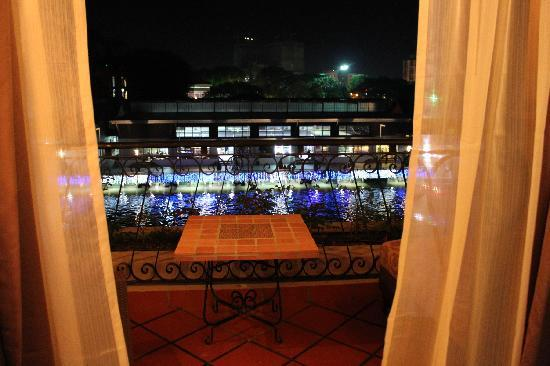 Casa del Rio Melaka: stunning view from the balcony