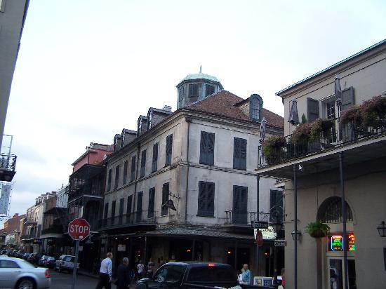 Strange True Tours : Napoleon House was built in 1797 and at one point intended to be for Napoleon Bonaparte after hi