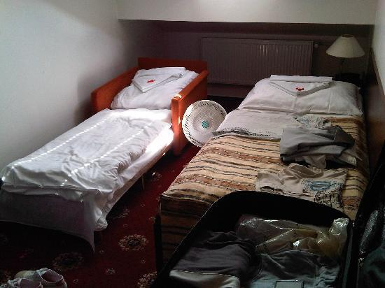 Hotel City Inn: The 'twin' room