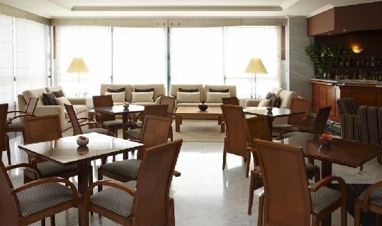 Hotel Carlos I Silgar: Cafetería