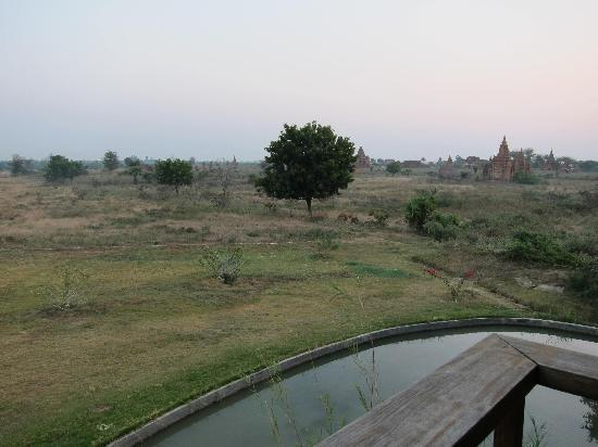 Kumudara Hotel Bagan: View from our balcony